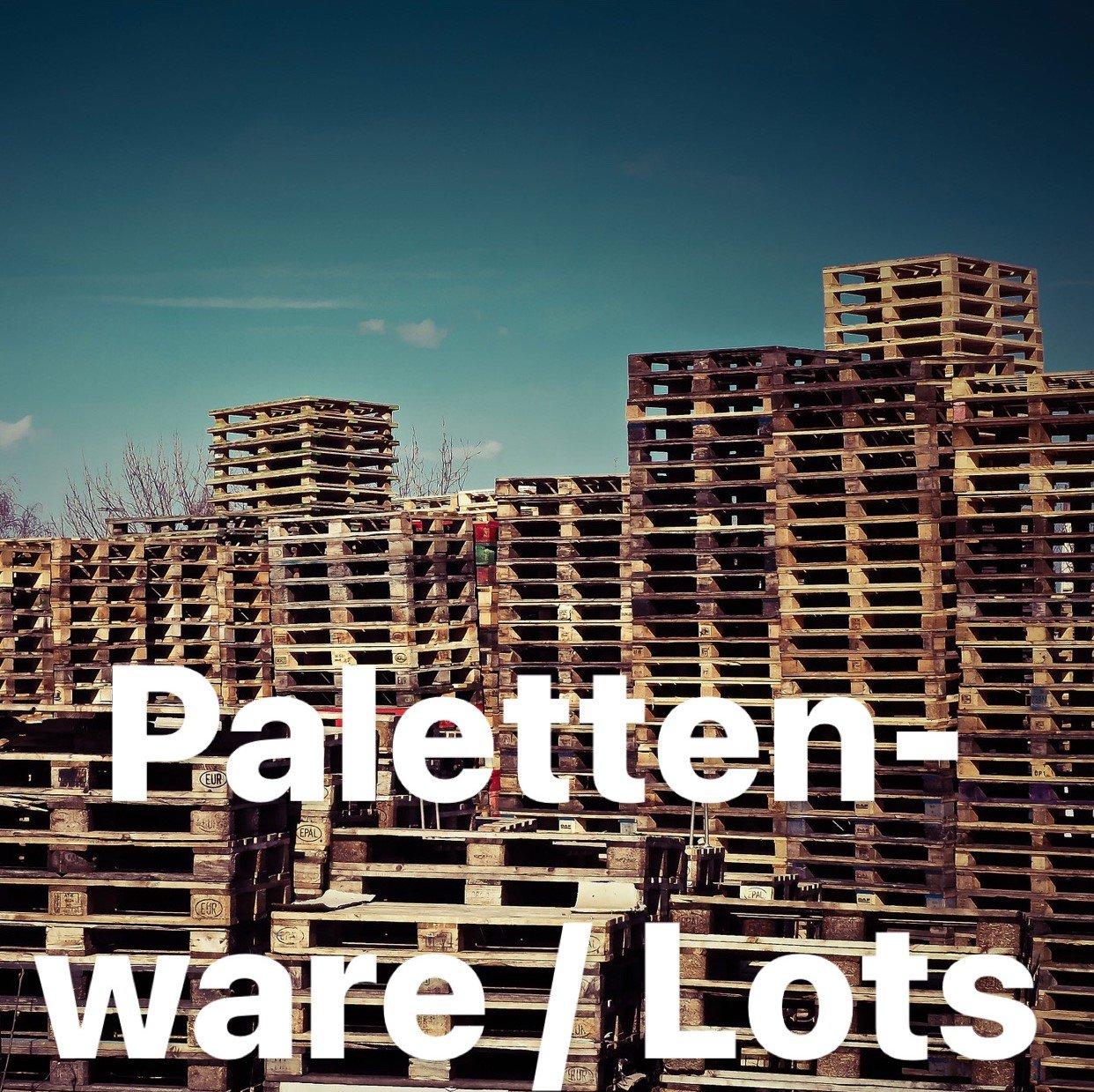 Palettenware / mixpaletts