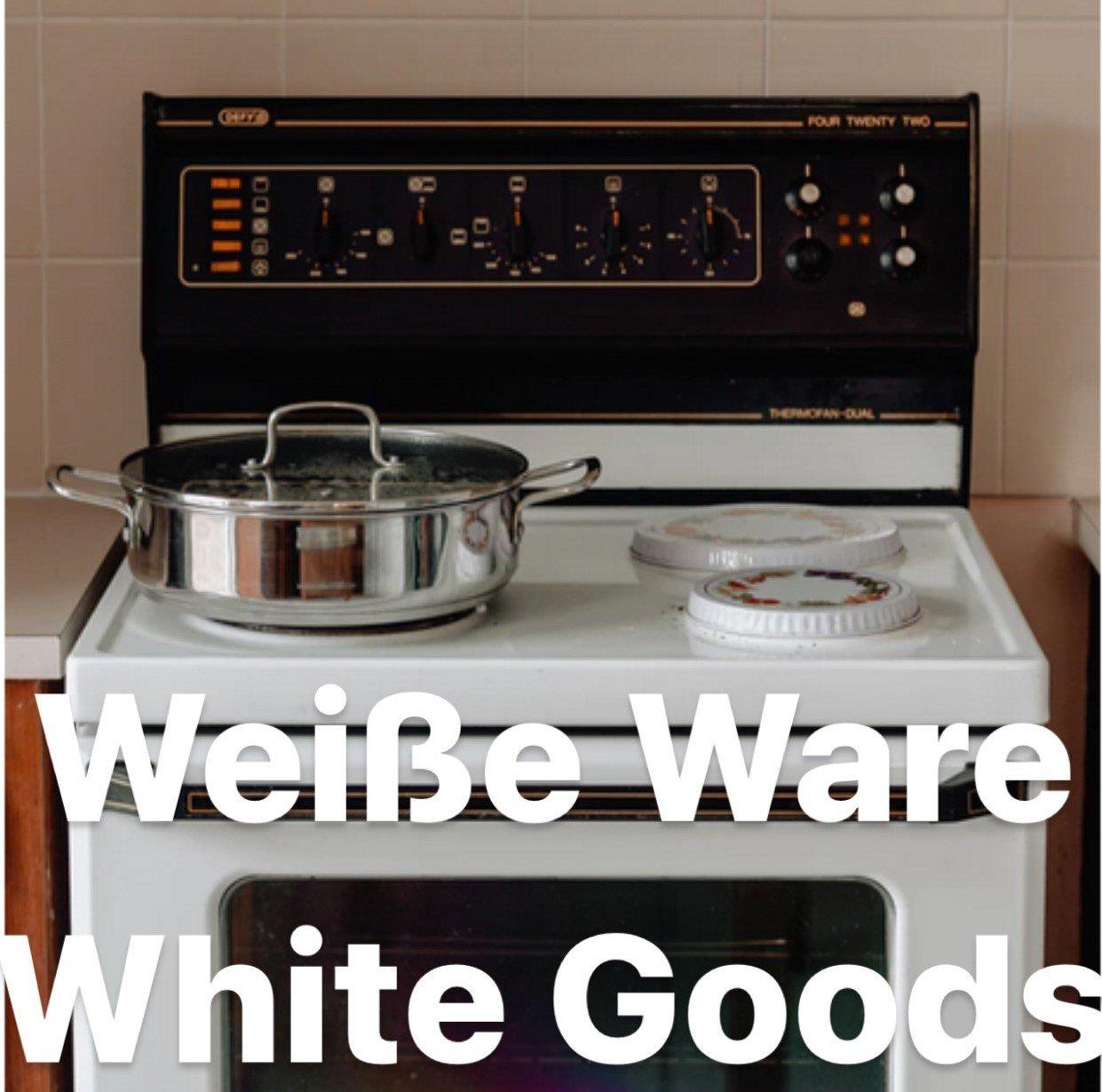 Weiße Ware / white goods