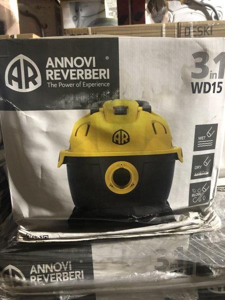 Annovi Reverberi Industrie-Sauger 3 in 1 WD15