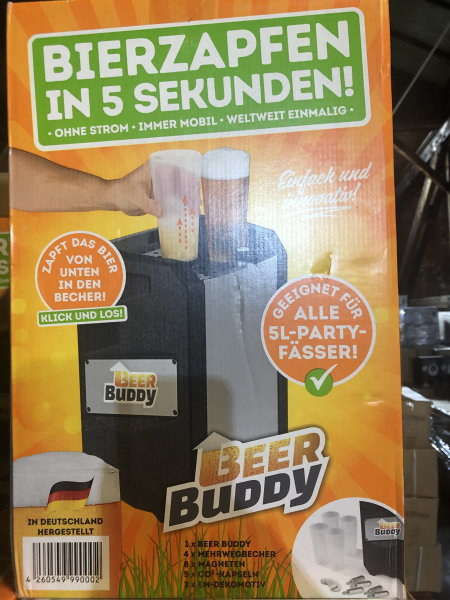 Beer Buddy Zapfanlage - made in Germany