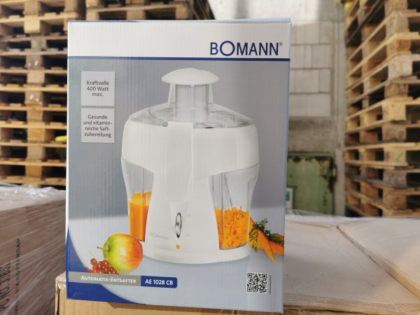 Bomann Automatik Entsafter AE1028CB 400W